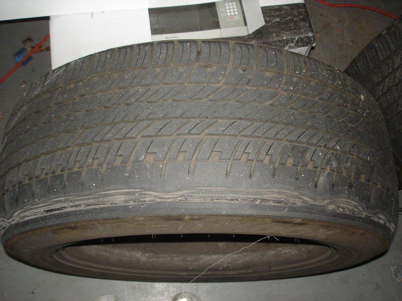 Rear tire wear 2005 X5 - Bimmerfest - BMW Forums